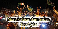 Moro Referandumundan Evet Çıktı