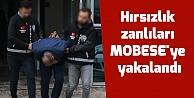 Motosikletli hırsızlık zanlıları MOBESEye yakalandı
