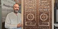 Naht Sanatkarı Kabenin Altın Kapısını Tabloya Nakşetti