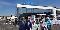 Nail Çiler Almanyada Fabrika Açılışına Katıldı