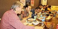 Ödüllü Cağ Kebabı Yeme Yarışmasında Zorlandılar