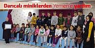 Öğretmenleri adına Yemene bağışta bulundular