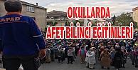 OKULLARDA AFET BİLİNCİ EĞİTİMLERİ
