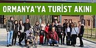 Ormanya, turistlerin gözdesi oldu
