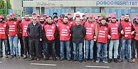 Posco Assan işçilerinin mücadelesi sürüyor