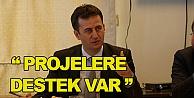 """Prof. Görgün; Projelere destek var"""""""