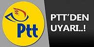 PTTden oltalama mail uyarısı