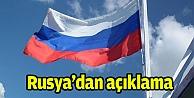 Rusyadan açıklama