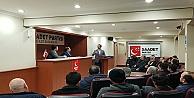Saadet Partisi Gebze İlçe Teşkilatı haftalık toplantısını gerçekleştirdi.