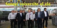 Sanayi üniversite el ele
