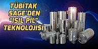 """TÜBİTAK  SAGE'DEN """"ISIL PİL""""  TEKNOLOJİSİ"""