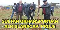 Sultan Orhanspordan alkışlanacak proje