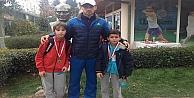 Teniste büyük başarı
