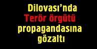 Terör örgütü propagandasına gözaltı