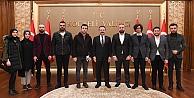 Trabzonlulardan Vali Aksoy'a ziyaret