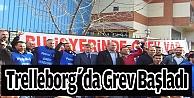 Trelleborgda grev başladı