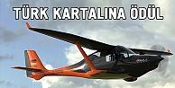 Türk Kartalı' en mükemmel uçak tasarımı ödülünü aldı