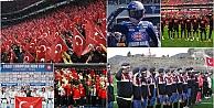 Türk spor camiası Mehmetçik için tek yürek