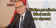 Türkiye genelinde ikinci sırada yer alıyoruz