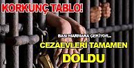 Türkiyede cezaevleri tamamen doldu
