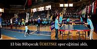 Ücretsiz Spor Eğitimi Verildi
