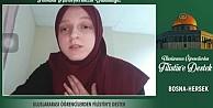 Uluslararası Öğrenci Derneği üyelerinden Filistine video mesajlı destek