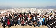 Uluslararası öğrenciler Bursayı gezdi
