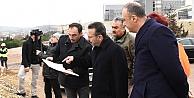 Vali Aksoy, şehir hastanesini inceledi
