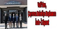 Vali#39;den,Çayırova Belediye Başkanına İade-İ Ziyaret