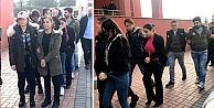 Yakalanan 13 şüpheliden 5i tutuklandı