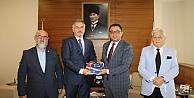 Yeniden Refah genel merkezi, Kocaeli ticaret odasını ziyaret etti.
