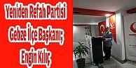 Yeniden Refah Partisi Gebze İlçe Başkanı Engin Kılıç