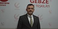 Yeniden Refah Partisi Gebze İlçe Başkanından 14 Mart Tıp Bayramınu kutladı