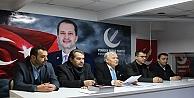 Yeniden refah partisi haftalık toplantısını gerçekleştirdi.