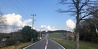Yollar çevreci boyalar ile boyanıyor