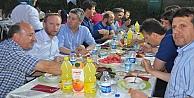 Yöre Gruptan Bahçede iftar