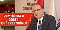 Zeytinoğlu 2018 dış ticaret verilerini değerlendirdi