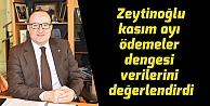Zeytinoğlu kasım ayı ödemeler dengesi verilerini değerlendirdi
