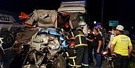 Zincirleme trafik kazasında 1 kişi öldü
