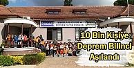 10 Bin Kişiye Deprem Eğitimi