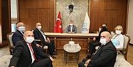 Ahilik Komitesi'nden Başkan Büyükakın'a ziyaret
