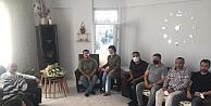 Başkan Acay İHA muhabiri Uslu'ya ziyarette bulundu!
