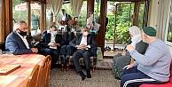 Başkan Büyükakın'dan gönül ziyaretleri