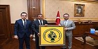 Başkan Karabacak Vali Aksoy'u Ziyaret Etti