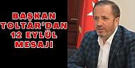 Başkan Toltar'dan 12 Eylül Mesajı