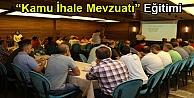 """Büyükşehir Personeline 'Kamu İhale Mevzuatı"""" Eğitimi"""