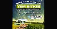 Büyükşehir'den çiftçilere yem bitkisi tohumu desteği