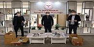 Büyükşehir'in ürettiği maskeler kamu kurumlarına dağıtıldı