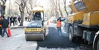 Cadde ve sokaklara 121 bin ton asfalt serildi