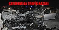 ÇAYIROVA'da TRAFİK KAZASI !